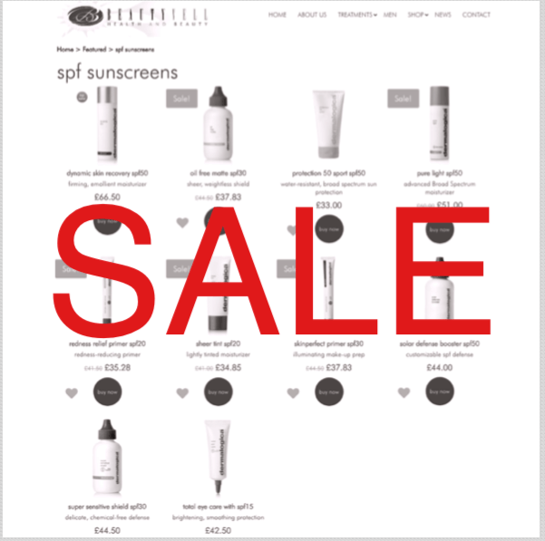 SALE – DERMALOGICA SPF SUNSCREEN