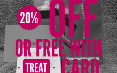 20% OFF AND FREE PRODUCTS WITH BEAUTYVELL TREATCARD POINTS ON SELECTED DERMALOGICA – WHILST STOCK LASTS